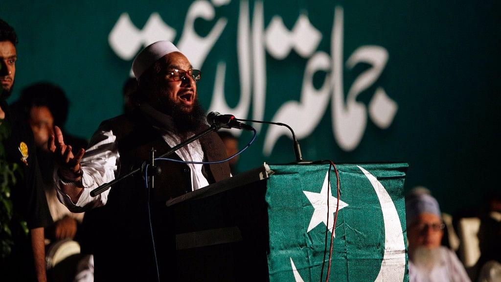 JuD chief Hafiz Saeed.