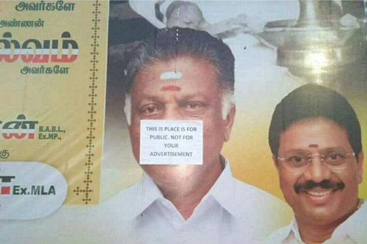 Citizen Groups Angry Over AIADMK's Banner Blitzkrieg in Chennai