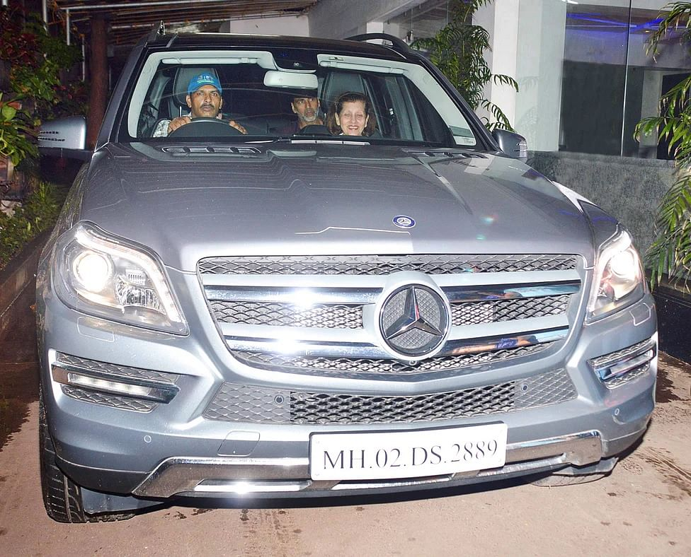 Most Bollywood stars prefer SUVs to ferry themselves and family around.