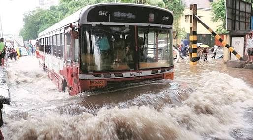 BEST proved to be godsend for the people of Mumbai as local trains came to a halt due to rains.