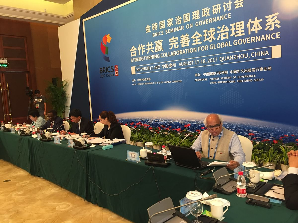 At a recent BRICS seminar, the Chinese participants agreed that Doklam crisis should have a peaceful resolution.