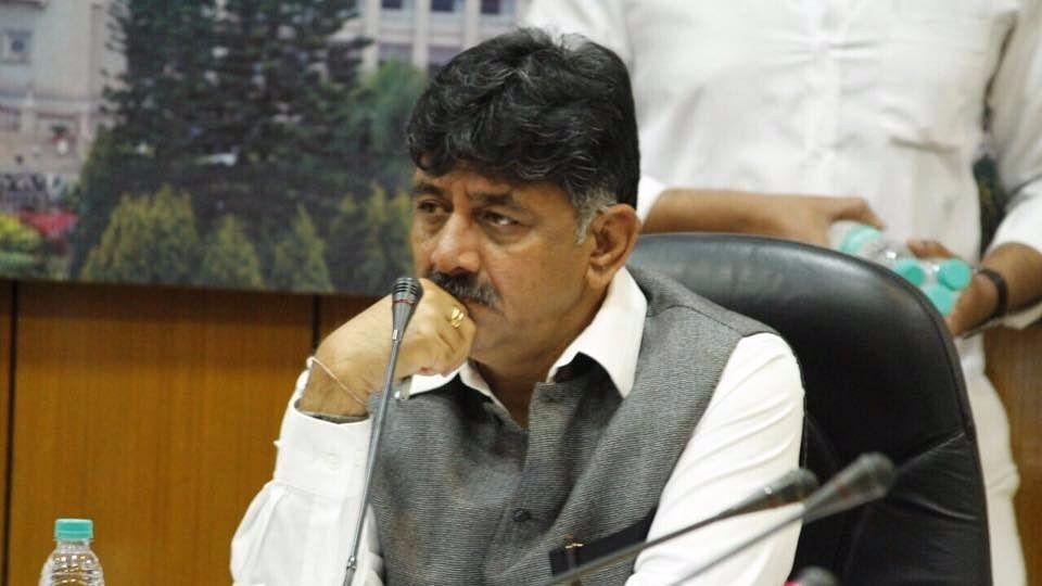 Karnataka Energy Minister DK Shivakumar.