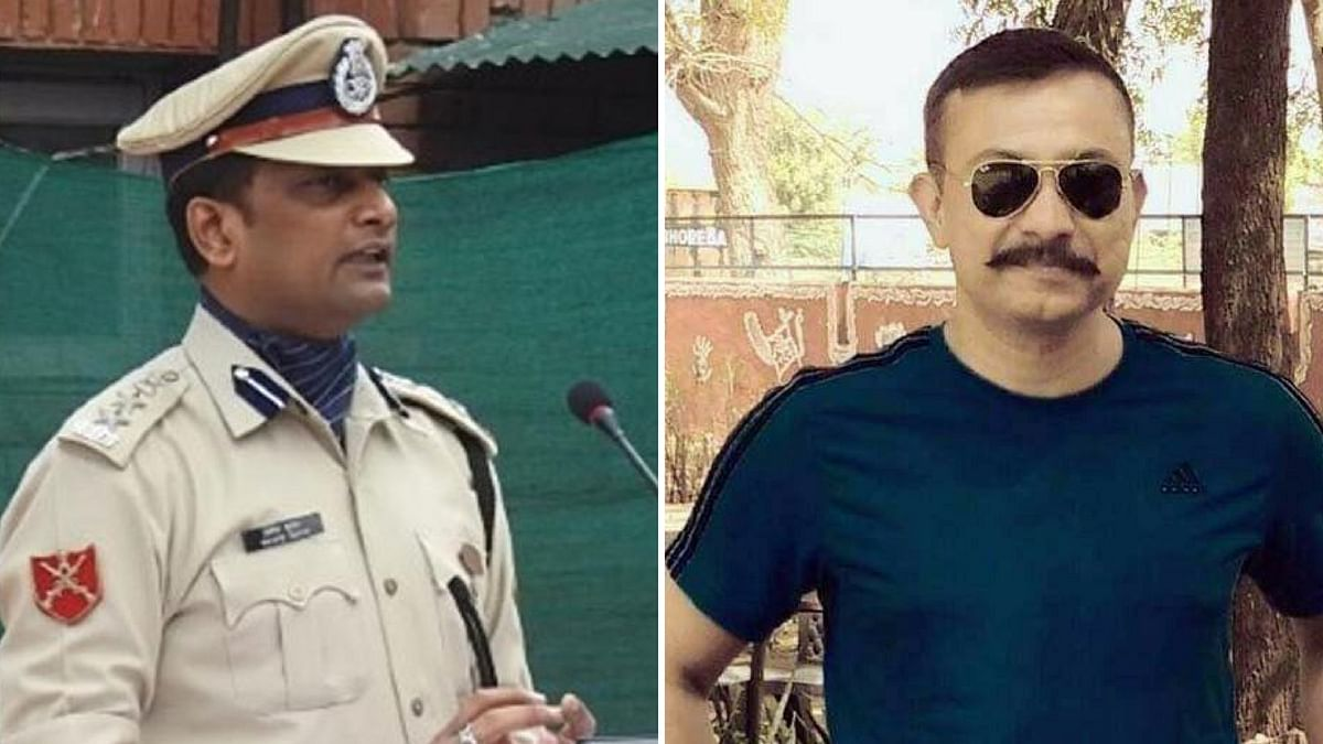 (Left)  CRPF commandant Pramod Kumar who died in an encounter last year and Chetan Cheetah have been awarded Kirti Chakra.