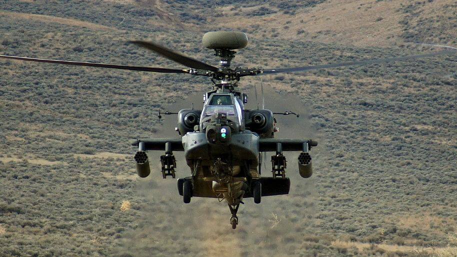 The six Apache helicopters cost around Rs 4,168 crore.