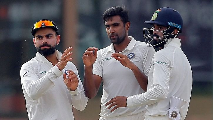 Ravichandran Ashwin picked up figures of 4/68 in the second innings.