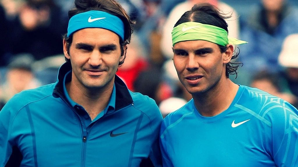 Federer and Nadal. (Photo: Reuters)