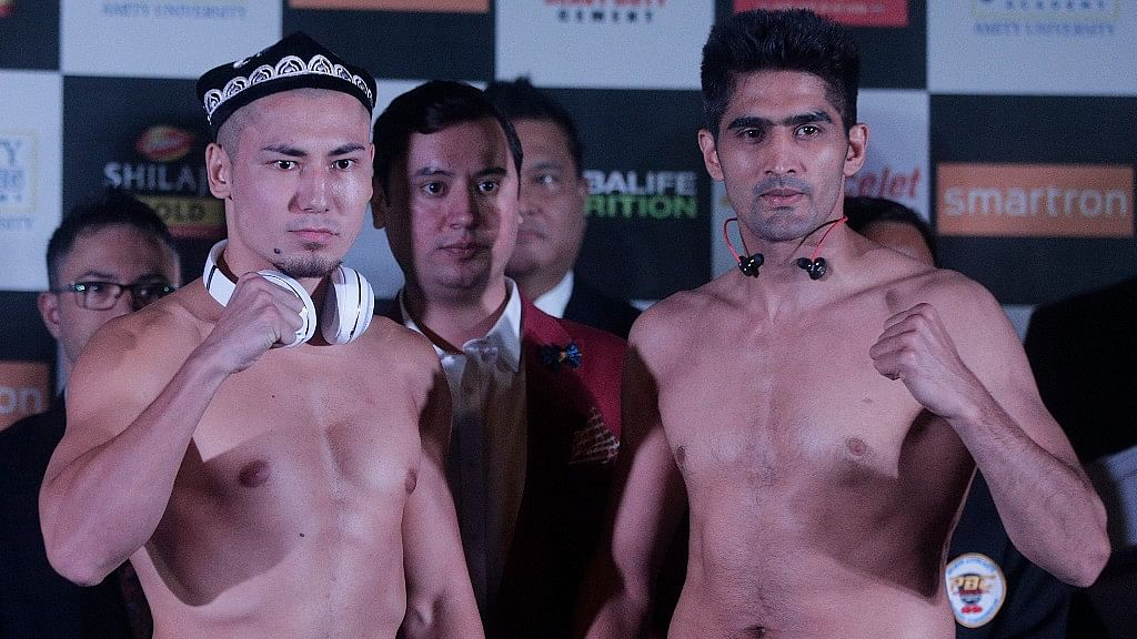 I Want to Return the Belt For Indo-China Peace: Vijender Singh