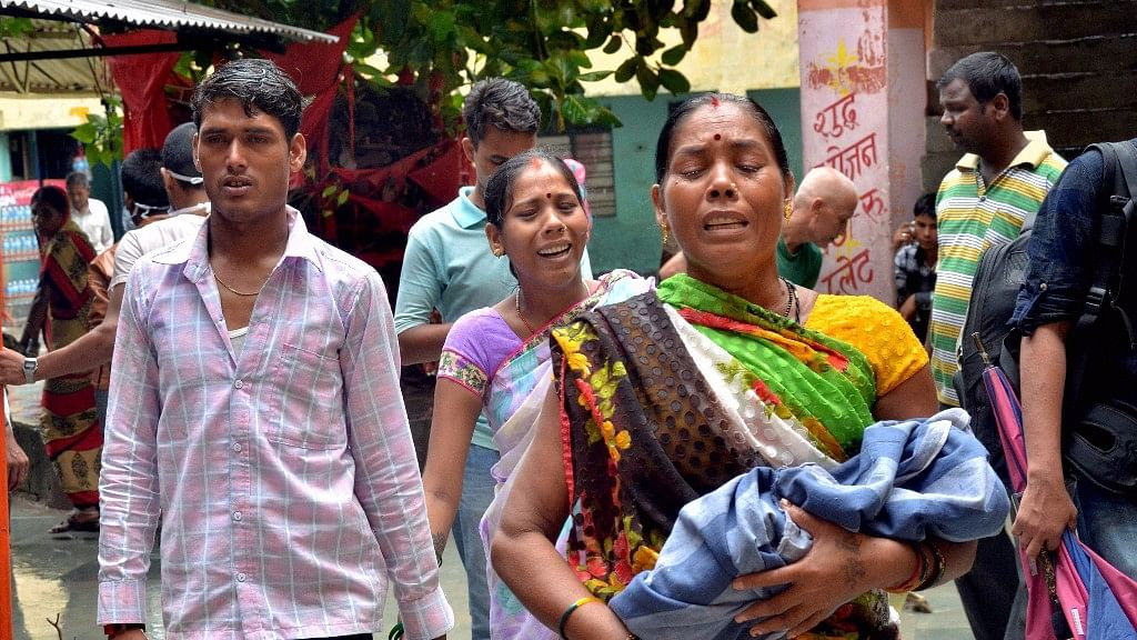 64 children have died at Gorakhpur's BRD hospital in a span of five days.