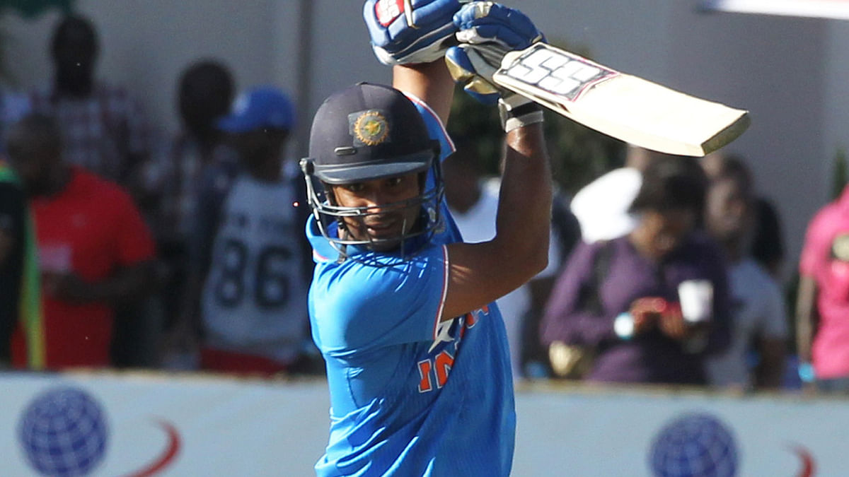 Ambati Rayudu has an average of around 43 batting at the number four position.