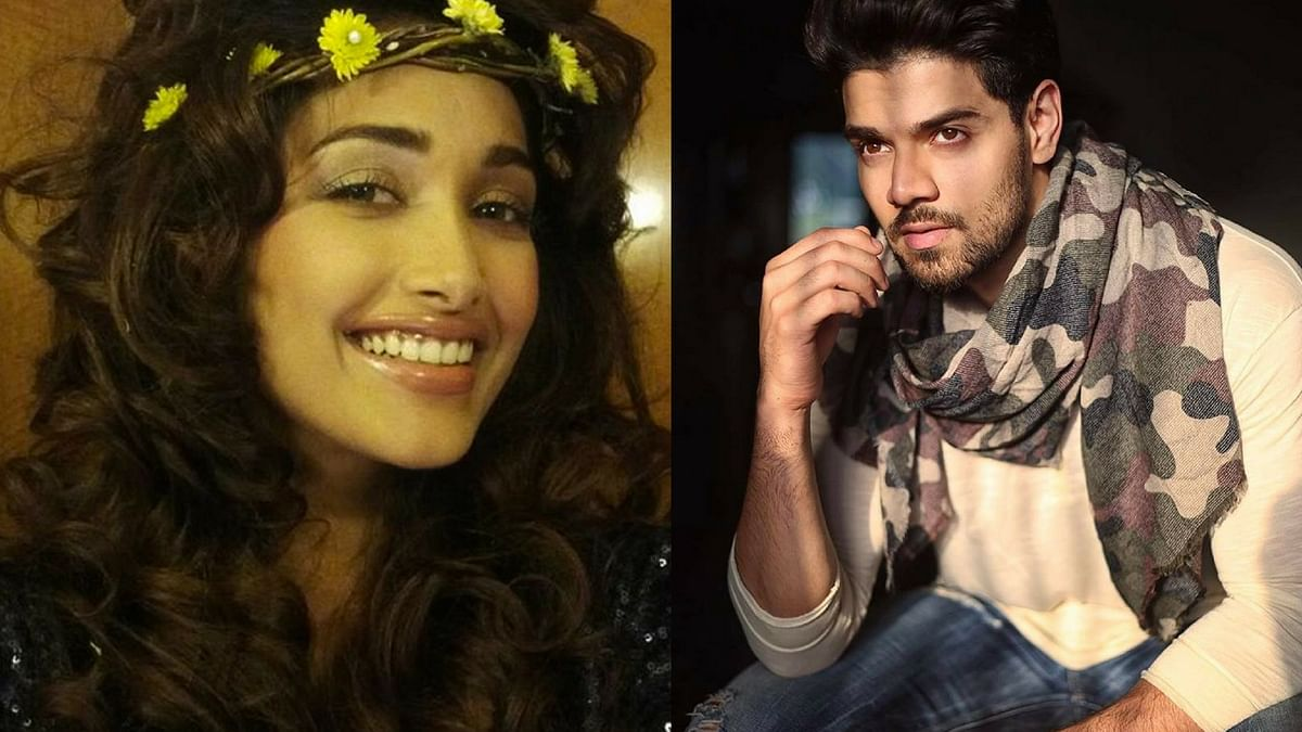 Sooraj Pancholi (right) is accused of abetting Jiah Khan's suicide.