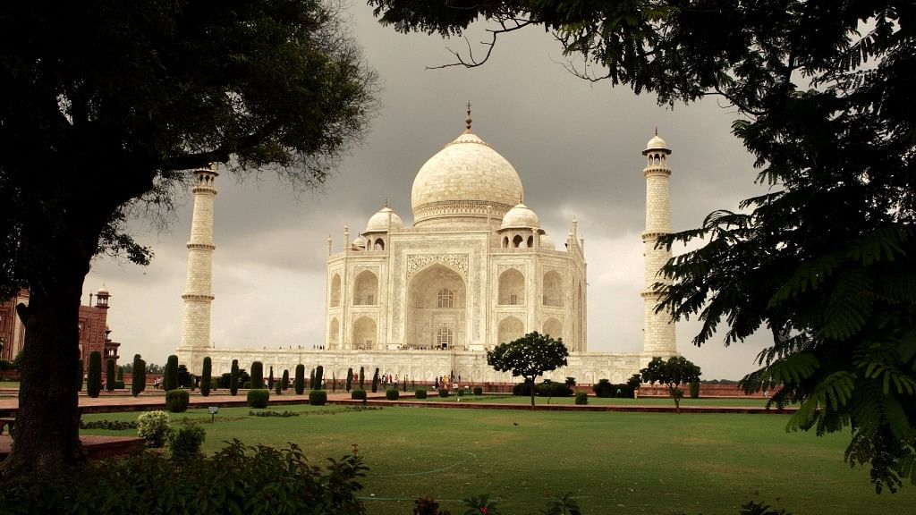 File photo of the Taj Mahal.