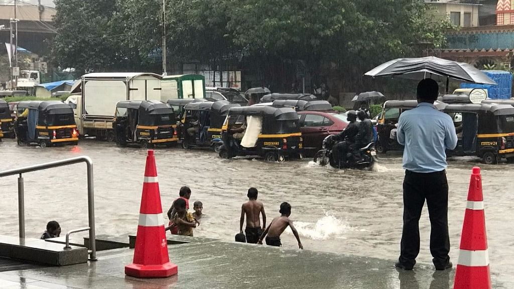Parts of Mumbai have come under water owing to incessant rains.