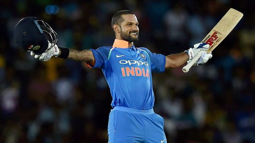 Opener Shikhar Dhawan became the second fastest India after captain Virat Kohli to reach the 5,000-run mark in ODIs.