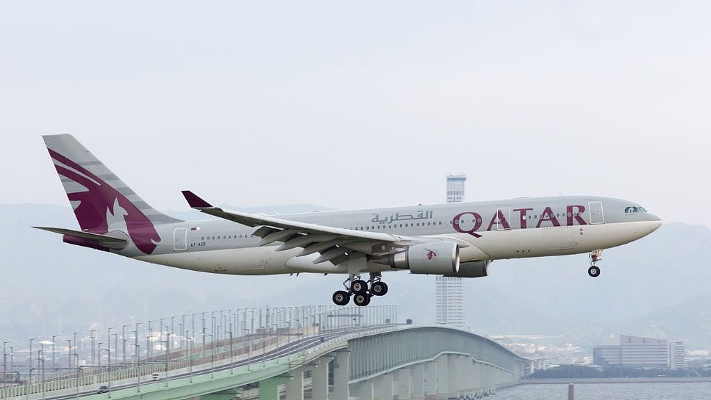 Qatar Airlines. Image used for representation.