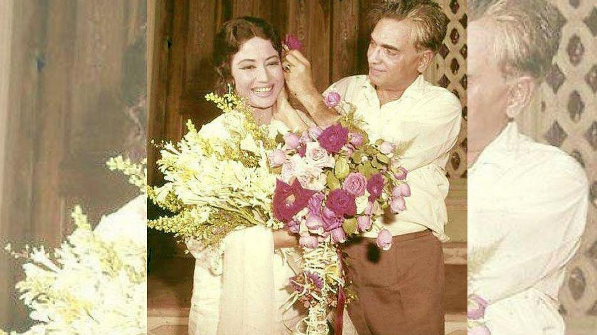 Kamal Amrohi and Meena Kumari.