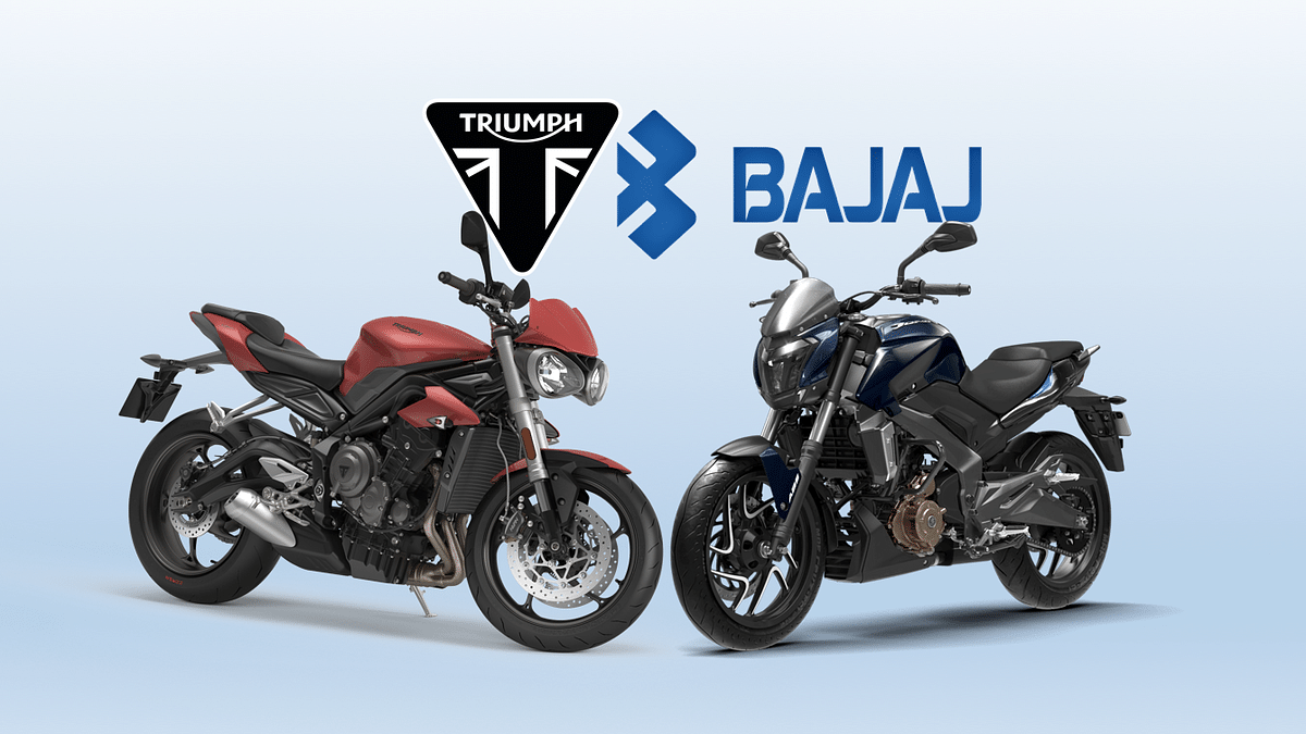 Bajaj Auto and Triumph Motorcycle UK have got into a non-equity partnership.