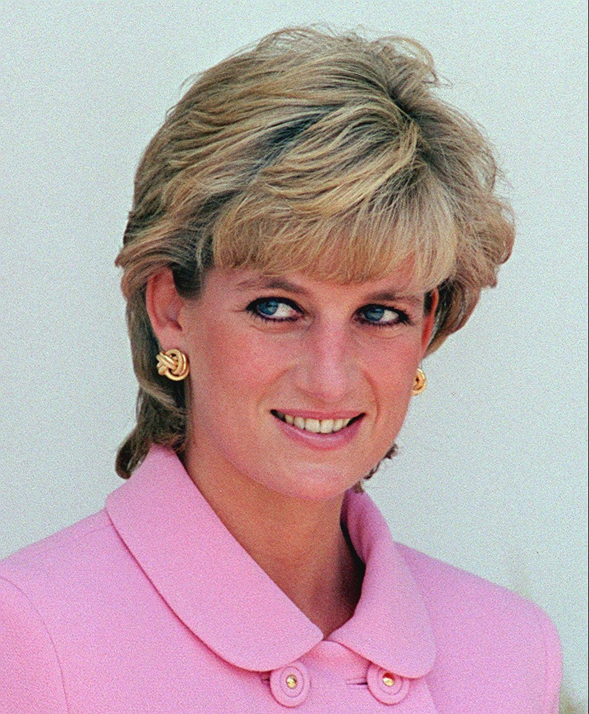 A November 1995 file photo of  Diana, Princess of Wales.
