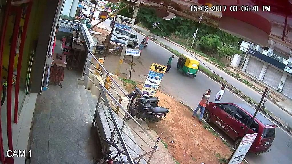 Police released this CCTV footage, which they claim helped crack the murder.