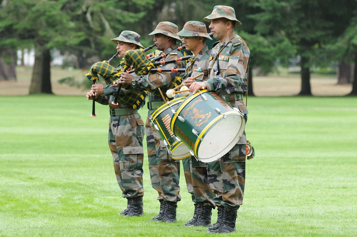 Minds of soldiers, conditioned for combat and adverse situations of any kind even in peacetime, gel together.