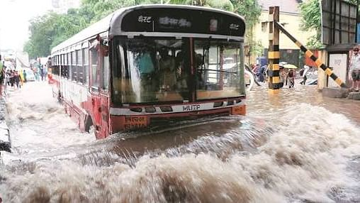 Mumbai floods in 2017.