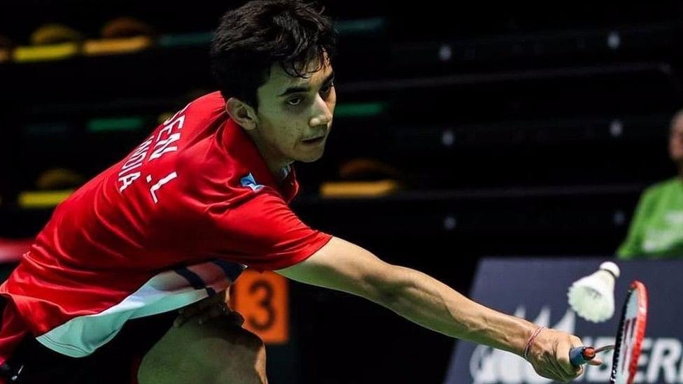 File photo of Indian badminton player Lakshya Sen.