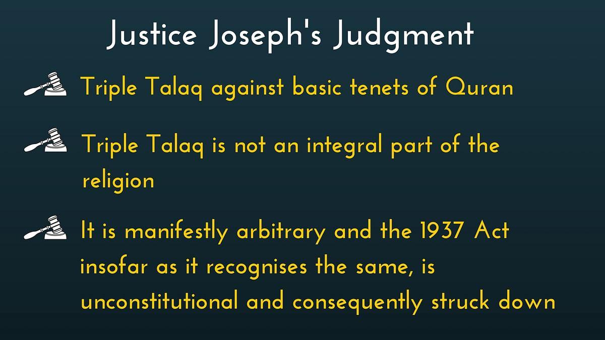 Triple Talaq: 5 Judges, 3 Views, 1 Order, But Why No Clarity?