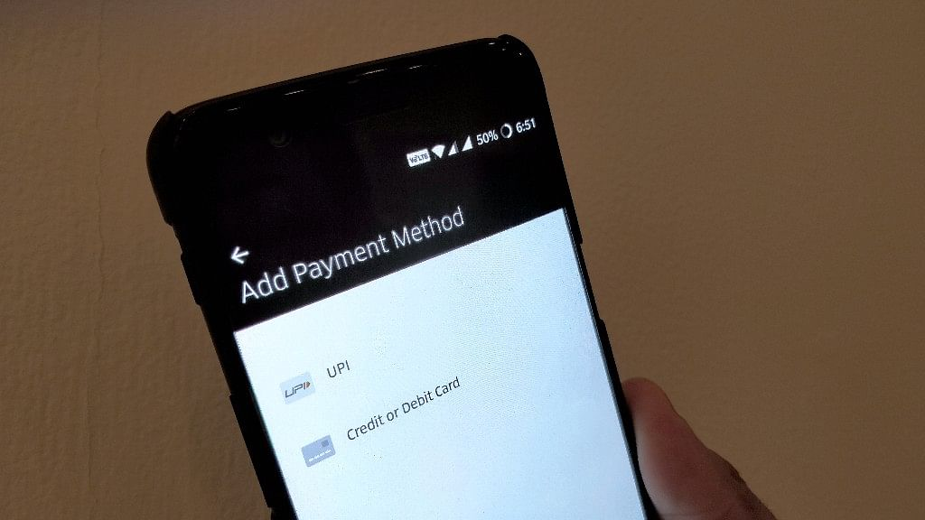Add UPI payment option for direct transfer on Android phones.
