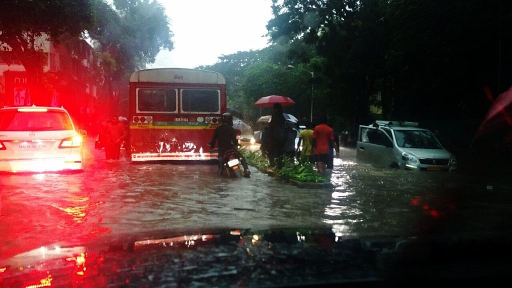 The Mumbai rains are the worst since 2005.