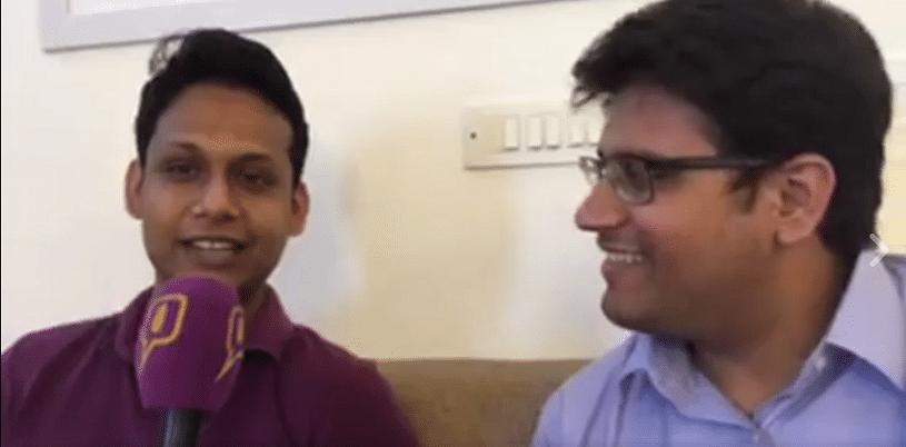 Apar Gupta with <b>The Quint's</b> legal correspondent Vakasha Sachdev