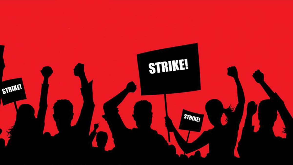 The demands raised by government staff and teachers include pay revision and scrapping of the new pension policy.