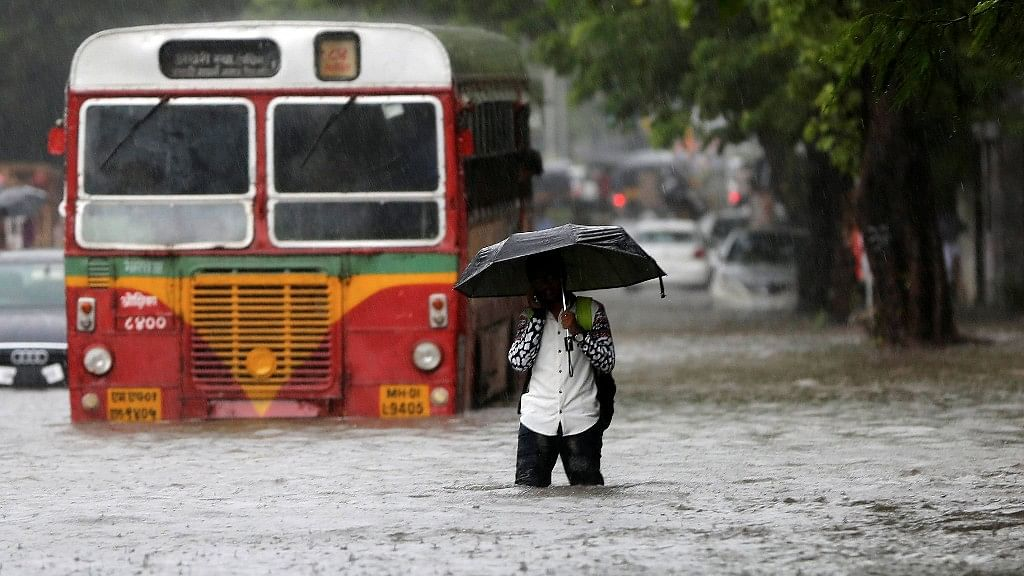 A file photo of rains in Mumbai.