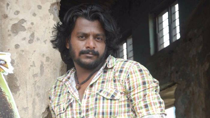 Kannada actor, Gururaj.