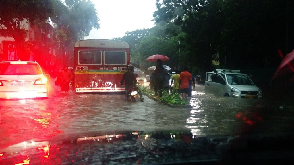When I (Stupidly) Ventured Into a Flooded Mumbai Road on a Bicycle