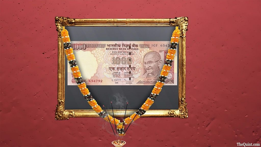 The Rs 1,000 notes was withdrawn after the announcement of demonetisation on 8 November 2016.