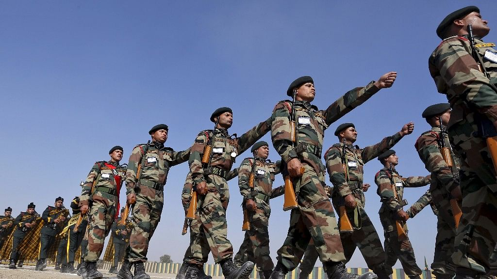 The troop movement from Sukna began about 20-25 days ago. Photo used for representational purpose.