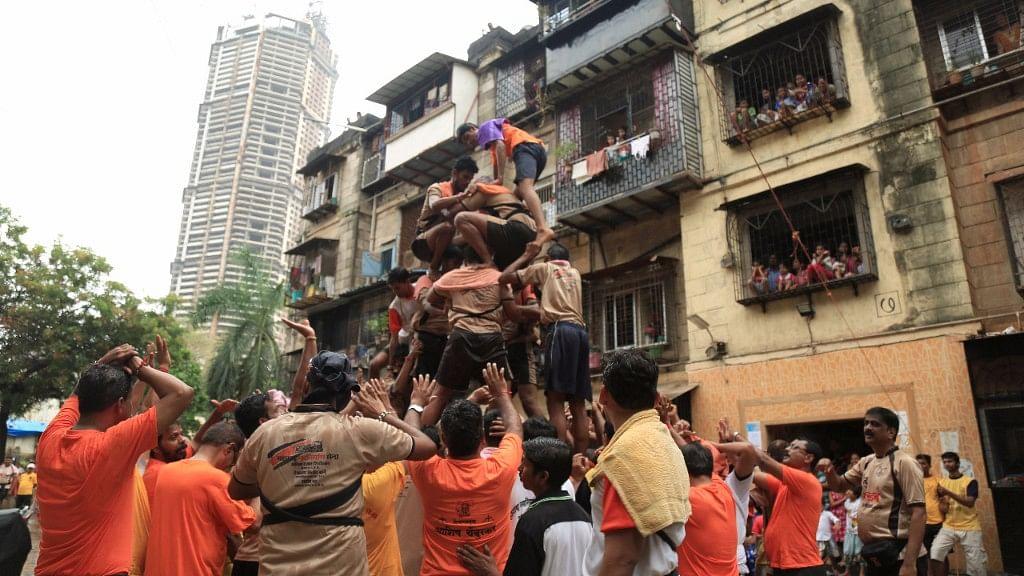 Celebrating Janmashtmi with Dahi Handi