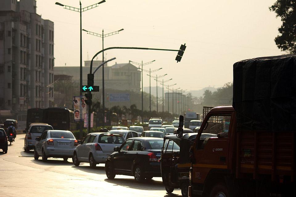 Mumbai traffic.