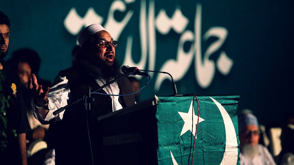 JuD chief Hafiz Saeed.