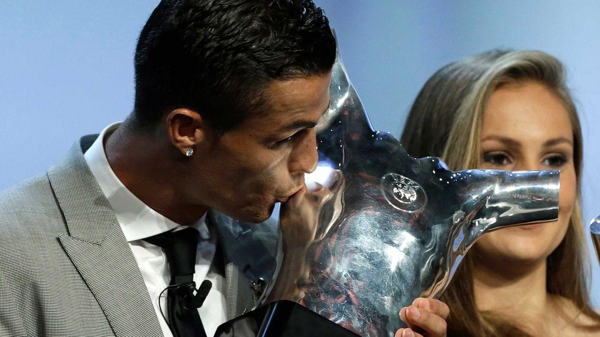 Cristiano Ronaldo Wins UEFA Player of The Year Award