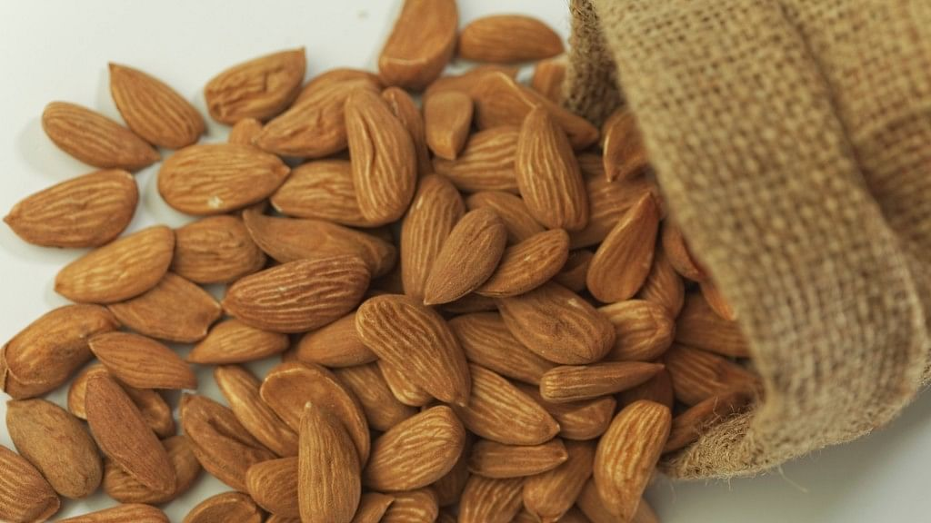 Soaked almonds are good for relieving stress and anxiety.