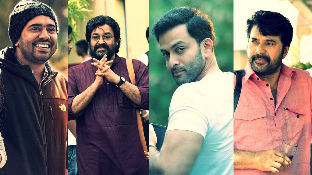 Nivin Pauly, Mohanlal, Prithviraj and Mammootty clash on Onam this year.