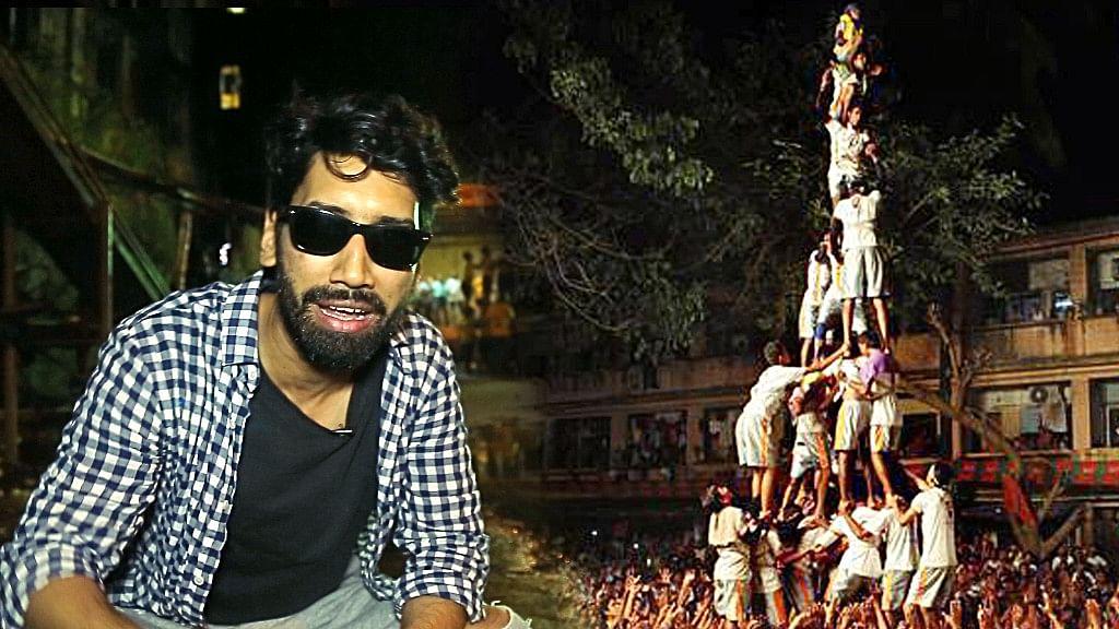 Dahi Handi: Delhi Boy Tries Mumbai's Favourite Adventure Sport
