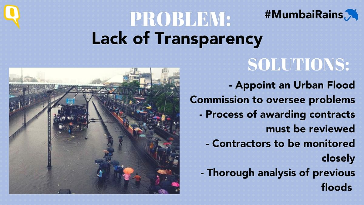 Experts say lack of transparency is one of the BMC's biggest hurdles.