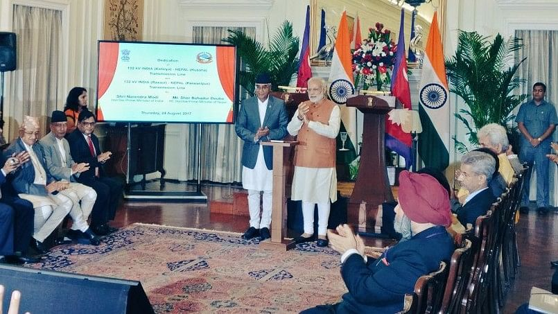 India, Nepal Sign Eight Pacts on PM Deuba's Maiden Visit
