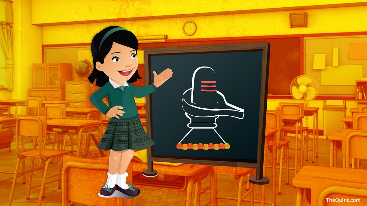 After books, saffronisation enters school campuses in MP through Shivling making workshops.