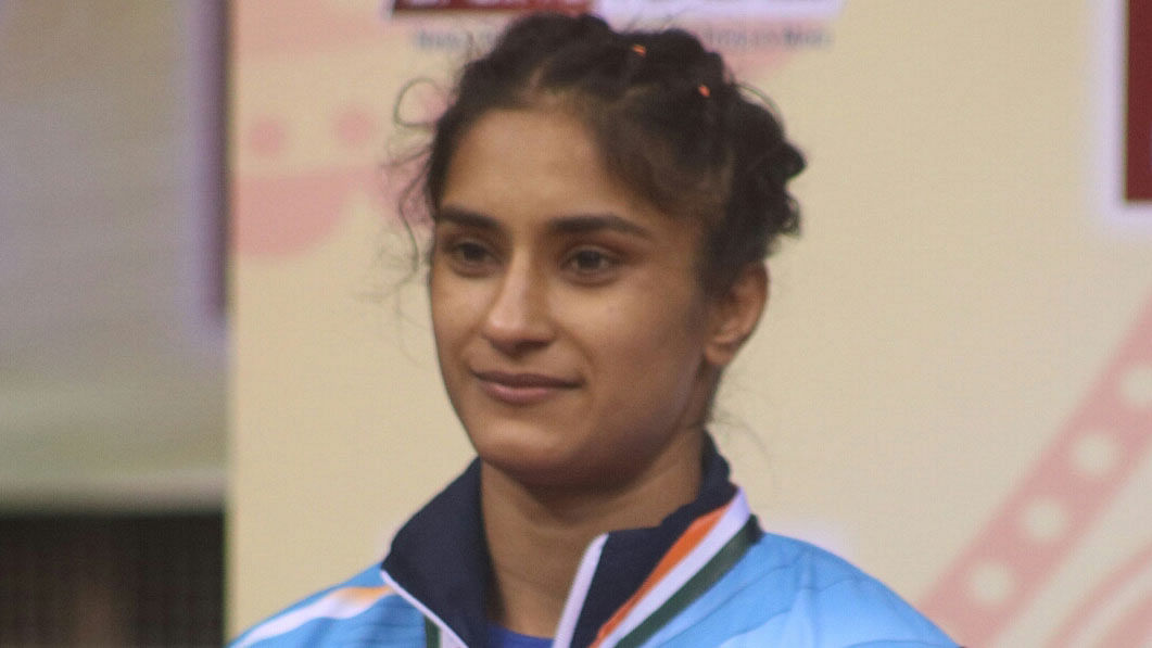 File photo of Vinesh Phogat.