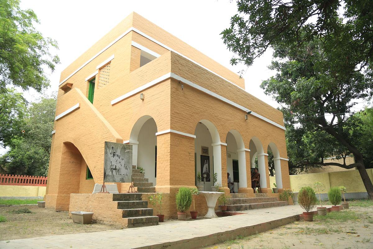 Kasturba Kutir building after renovation.