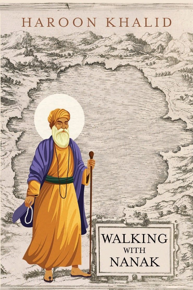 The cover of Haroon Khalid's <i>'Walking with Nanak'</i>.