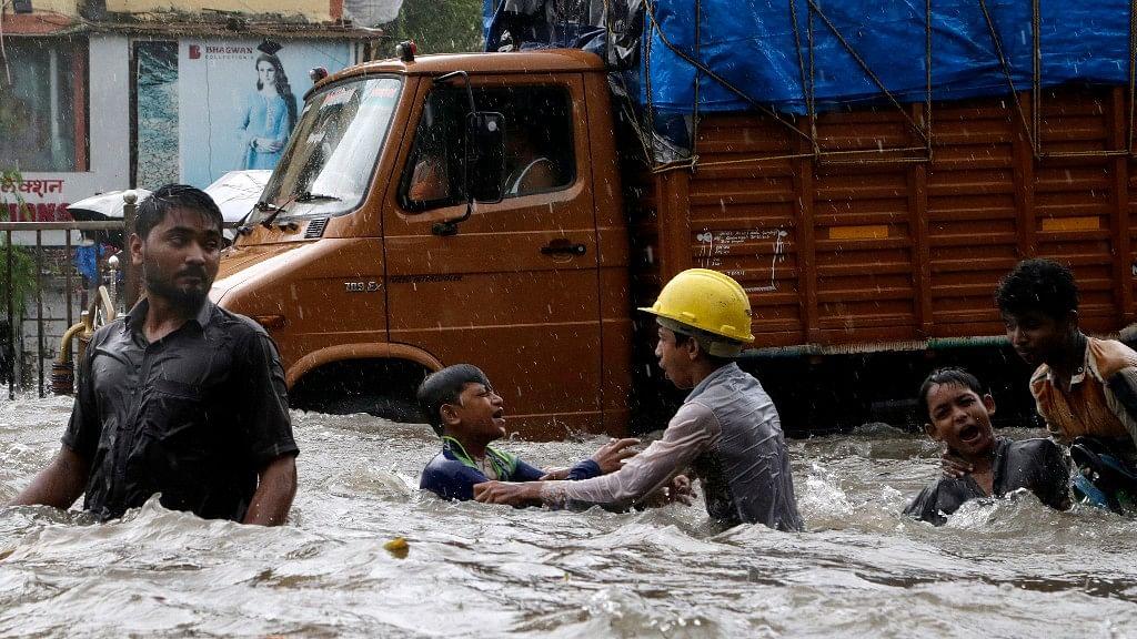 Incessant rains wreaked havoc in Mumbai.