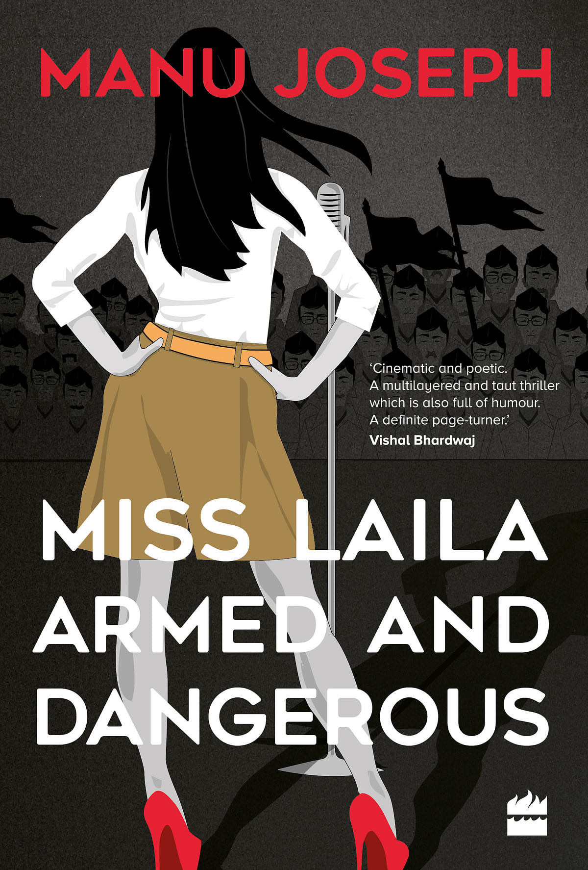 A cover of <i>Miss Laila, Armed and Dangerous</i>.